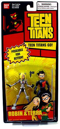 Teen Titans Go! Robin & Terra Action Figure 2-Pack by