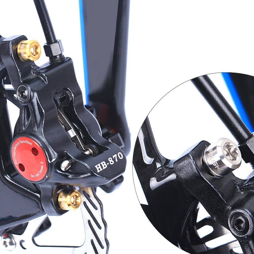 RISK 4PCS M6×18//20mm Titanium Ti Bolts Screws for MTB Bike Disc Brake Caliper