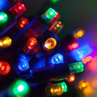 70 Premium-Grade LED Christmas Mini Lights Multi, 24' Long Life Connectable for Tree Party Holiday Decoration