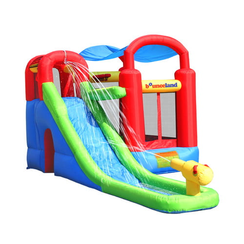 Bounceland Waterslide with Playstation Bounce House by Bounceland