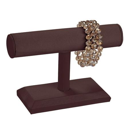 Display T-bar - Small Chocolate T-Bar Display