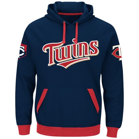 "Minnesota Twins Majestic MLB ""Third Wind"" Mens Hooded Sweatshirt by"