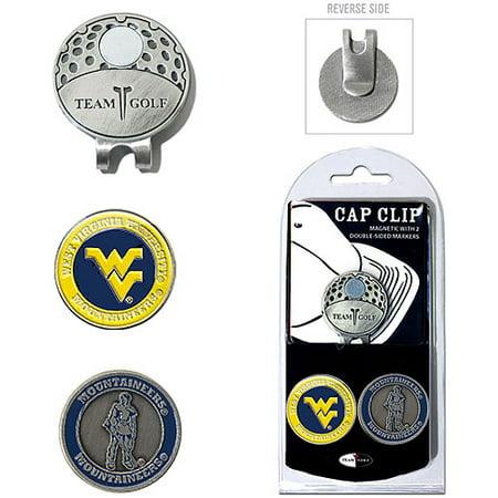West Virginia University 2-Marker Cap Clip