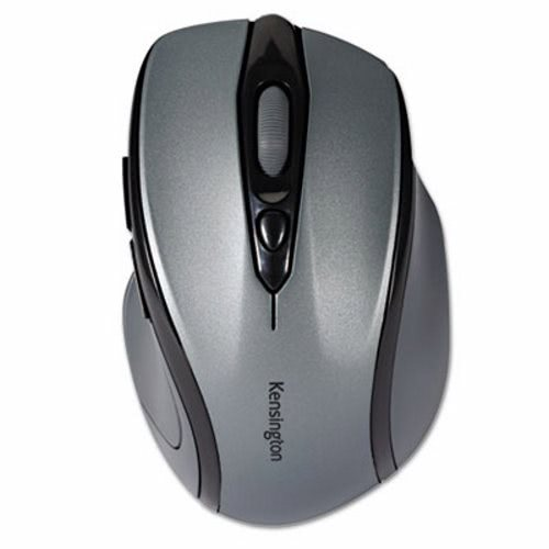 Kensington Pro Fit Mid-Size Wireless Mouse, Right, Windows, Charcoal (KMW72423)
