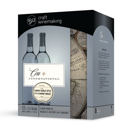- Wine Ingredient Kit - Cru International - Chilean Cabernet Merlot Style