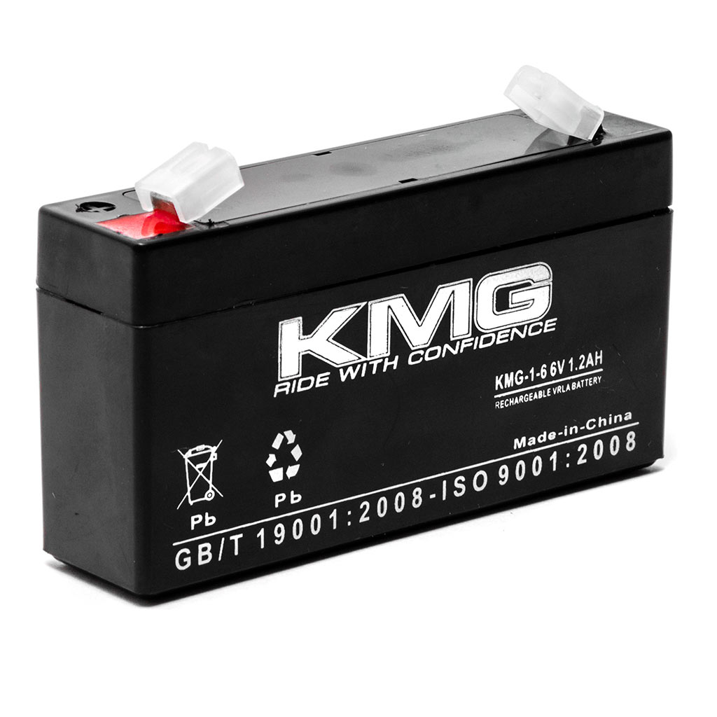 KMG 6V 1.2Ah Replacement Battery for DIVERSIFIED MEDICAL NCE NP1.2-6 - image 3 de 3