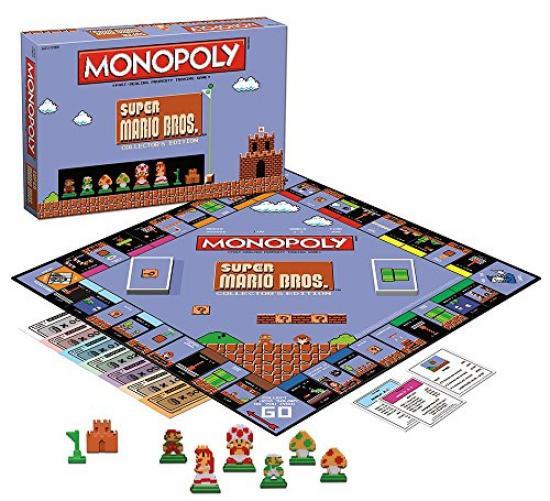 Monopoly: Super Mario Bros Collector's Edition Board Game by default