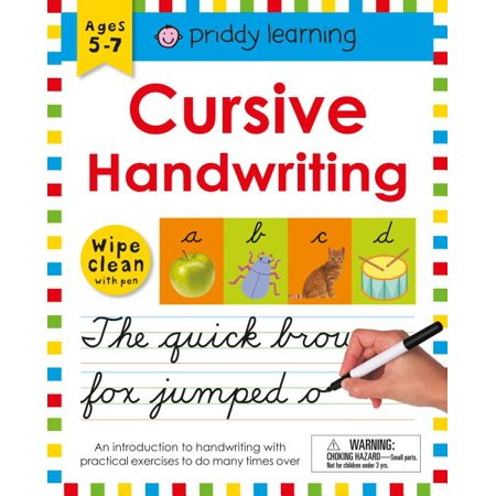 Wipe Clean Workbook: Cursive Handwriting Cursive Alphabet Line