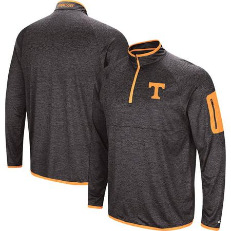 Tennessee Volunteers Colosseum Amnesia Quarter-Zip Pullover Jacket - Black Antigua Tennessee Volunteers Jacket