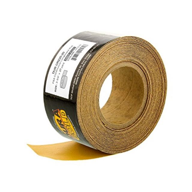 """3/"""" WIDE X 50/' SANDPAPER ROLL FOR SANDERS 80 GRIT MULTI ROLL DEALS AVAILABLE!"""