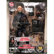 """Click N"""" Play Police Unit SWAT 12"""" Action Figure Play Set With Accessories."""