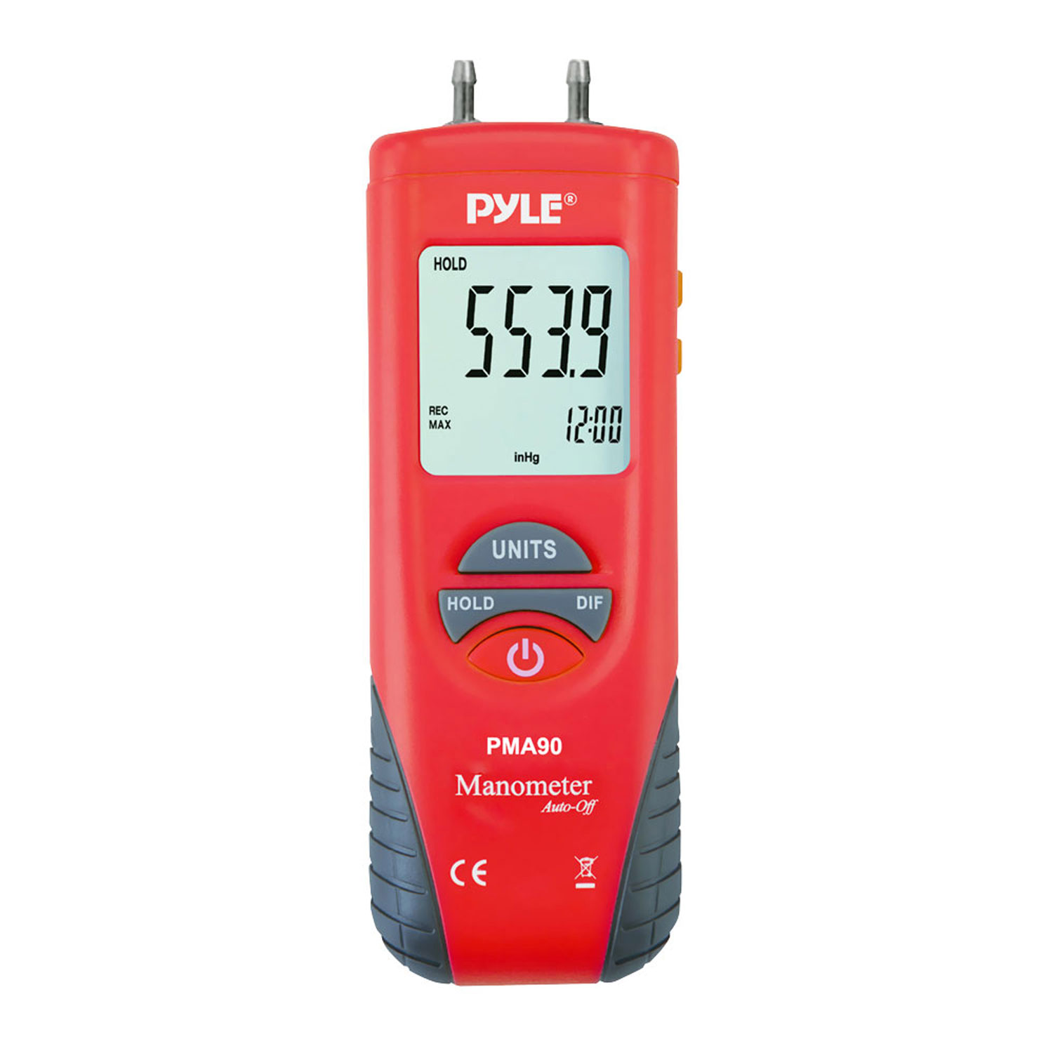 Anemometer   Thermometer Air Velocity, Air Flow, Temperature by Pyle