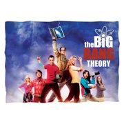 Big Bang Theory Poster Poly 20X28 Pillow Case White One Size