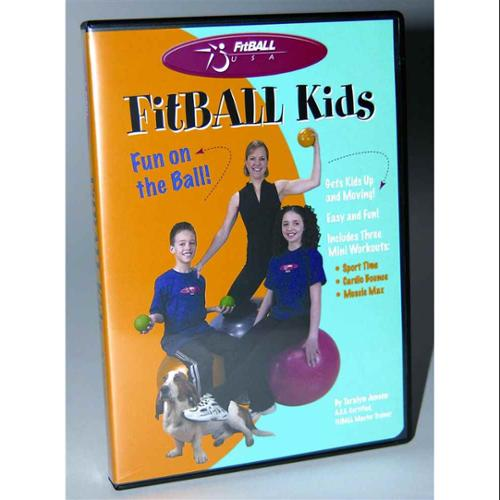 FitBALL Kids One-Hour Workout DVD w Taralyn Jensen