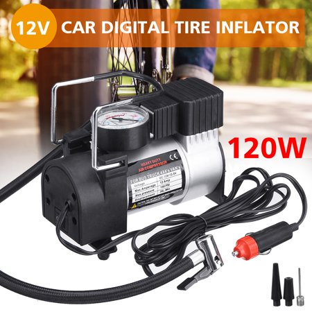DC 12V Portable Mini Air Compressor 150/300 PSI Air Pump Auto Car Electric Tire Inflator For Auto Car