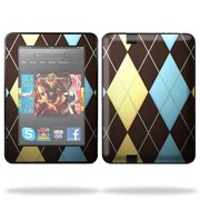 Skin Decal Wrap for Amazon Kindle Fire HD 7 Tablet sticker Abstract Hearts