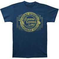 Florida Georgia Line Men's  Get Your Shine T-shirt Navy