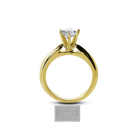 0.40ct H-VS1 VG Round AGI Natural Diamond 18k Cathedral Solitaire Ring 9.41 gram