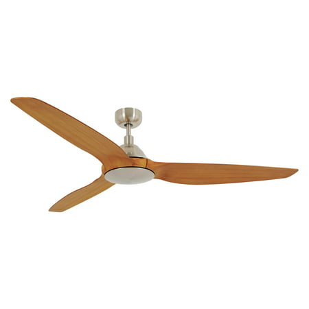 Lucci Air Type A 60 Inch Dc Ceiling Fan Brushed Chrome