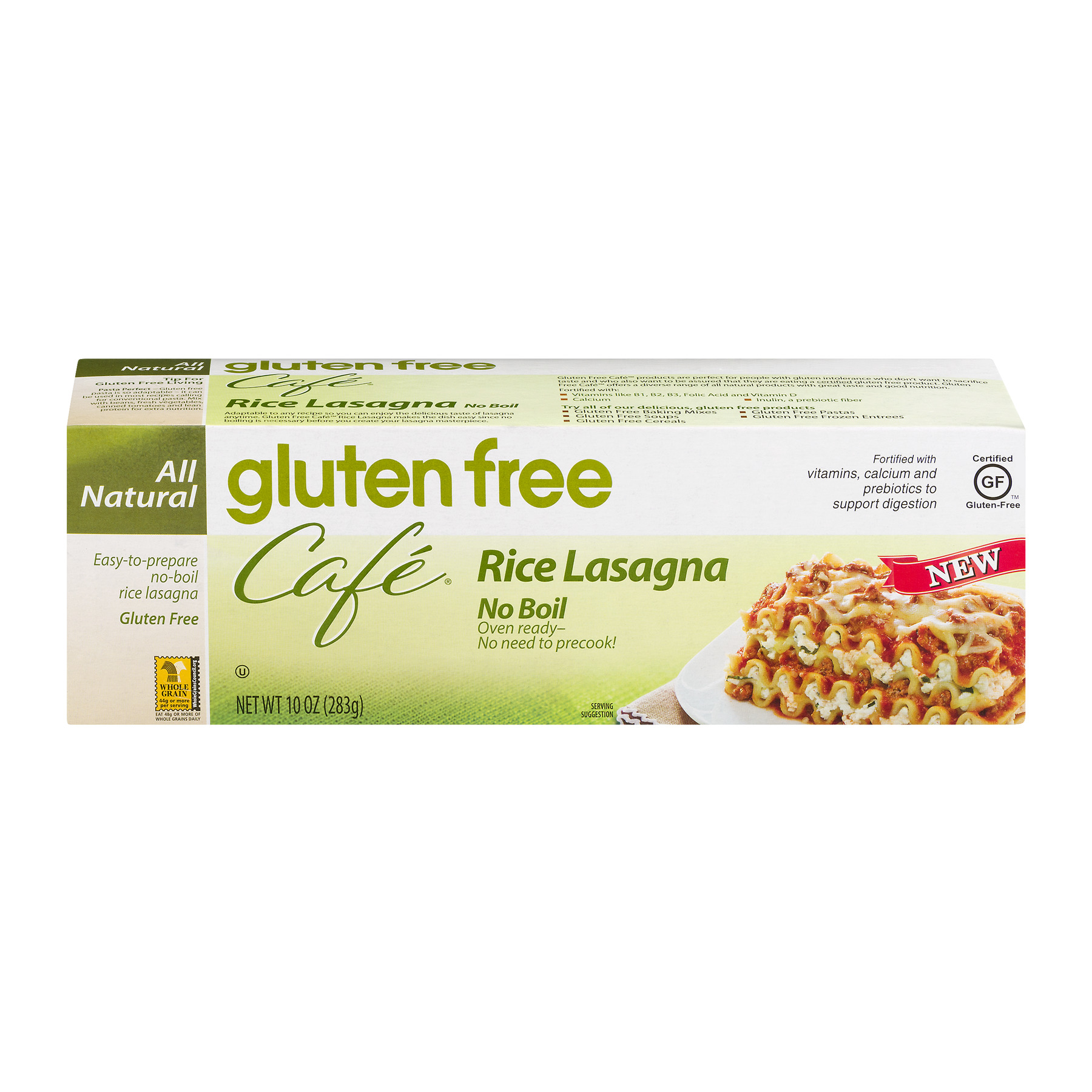 Cafe' Rice Lasagna Gluten Free No Boil, 10.0 OZ by The Hain Celestial Group, Inc.