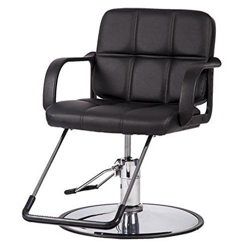 BestSalon Black Classic Hydraulic Barber Chair Salon Spa Beauty Equipment 10W