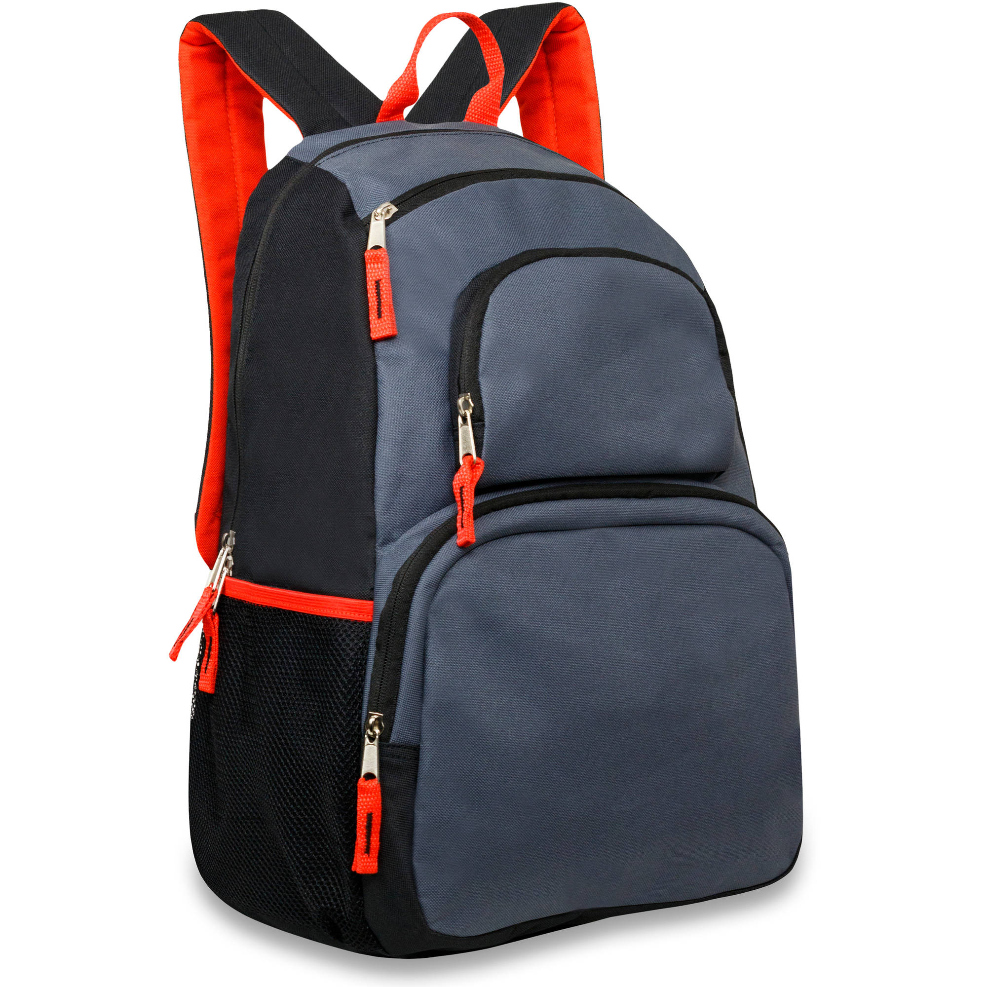 18 Inch Triple Pocket Backpack