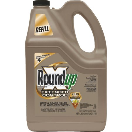 Roundup Extended Control Weed   Grass Killer Plus Weed Preventer Ii Refill 1 25 Gal