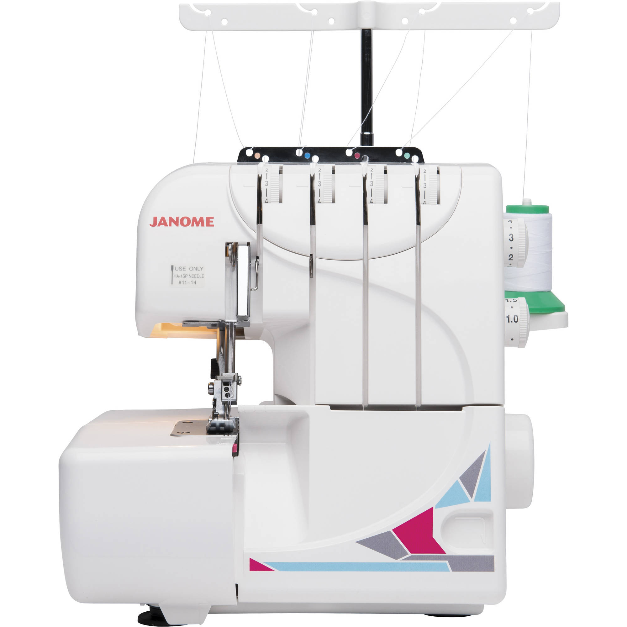 Serger Threading Diagram Trusted Wiring Diagrams Sewusa Janome Mod 8933 Overlock With Lay In Wide Open Juki
