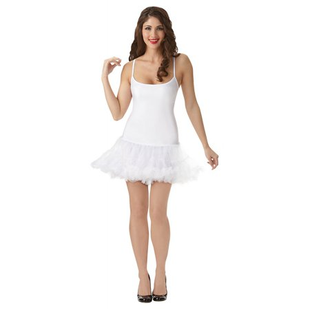 Petticoat Dress Adult Costume Starter White - Medium/Large](Petticoat Dress)