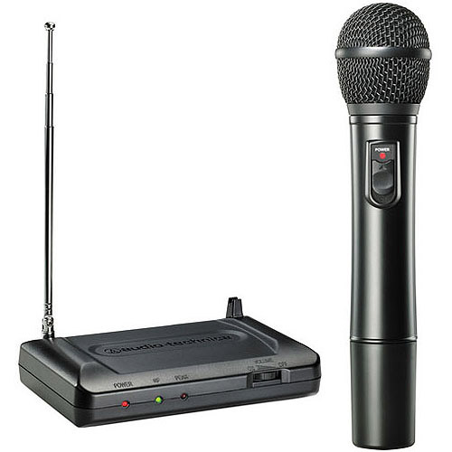 AUDIO TECHNICA ATR-7200-T8 Handheld VHF Wireless Microphone System (171.905MHz) by Audio Technica