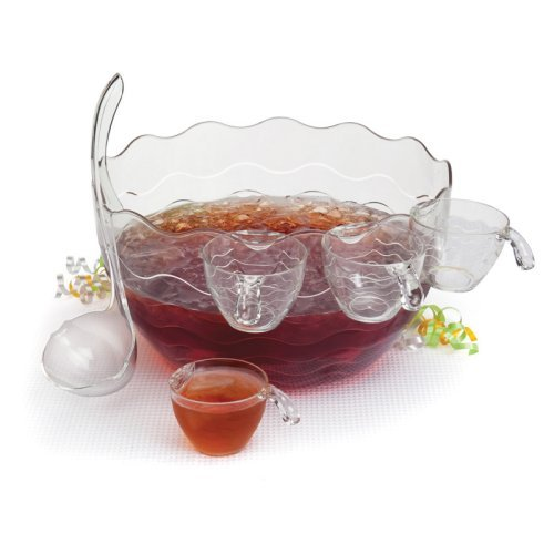 Creative Bath Punch or Salad Bowl - Set of 7