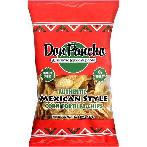 Don Pancho Authentic Mexican Style Corn Tortilla Chips, 20 oz
