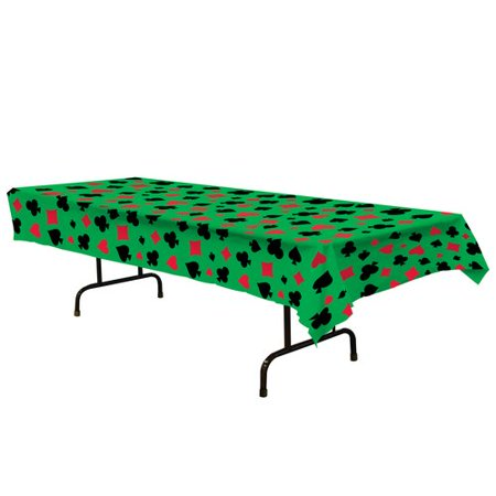 The Party Aisle Casino Tablecloth for $<!---->