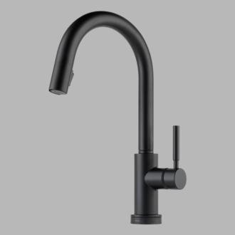Brizo 64020LF-PC Solna Single Handle Single Hole Pull-Down Kitchen Faucet With Smarttouch(R) Technology In
