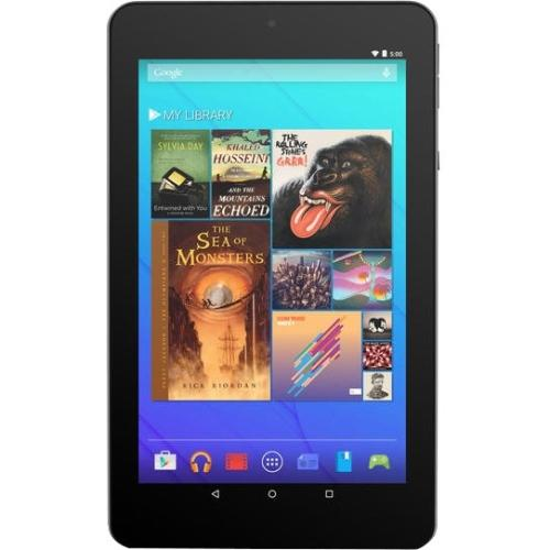 """Ematic 7"""" HD Quad-Core Multi-Touch Tablet with Android 5.0, Lollipop - Red"""
