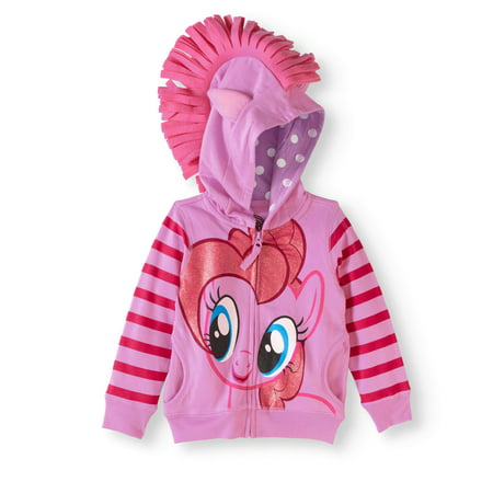 My Little Pony Toddler Girl 3D Ear Fleece Costume Hoodie