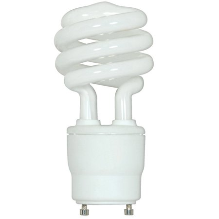 Satco Compact - Satco 23W Mini Twist 2700K GU24 base Compact Fluorescent Light Bulb