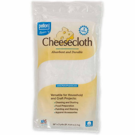 Pellon Cheesecloth, White, 36