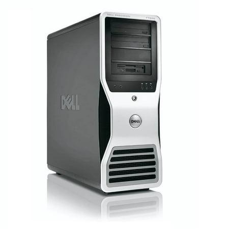 Refurbished Dell Precision T7500 Workstation 2x X5570 Quad Core 2.93Ghz 128GB 2TB 2TB Q4000 Win 10 Pre-Install - image 1 of 3