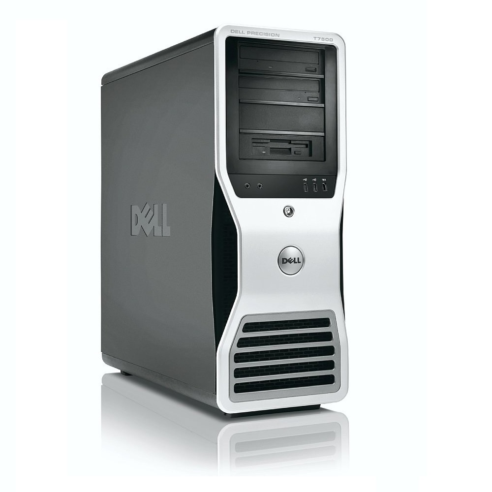 Refurbished Dell Precision T7500 2x E5520 4C 2.26Ghz 96GB 2TB 2TB Dual DVI Win 10