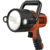 BLACK + DECKER 750 Lumen LED Li-ion Rechargeable Spotlight (SLV2B)