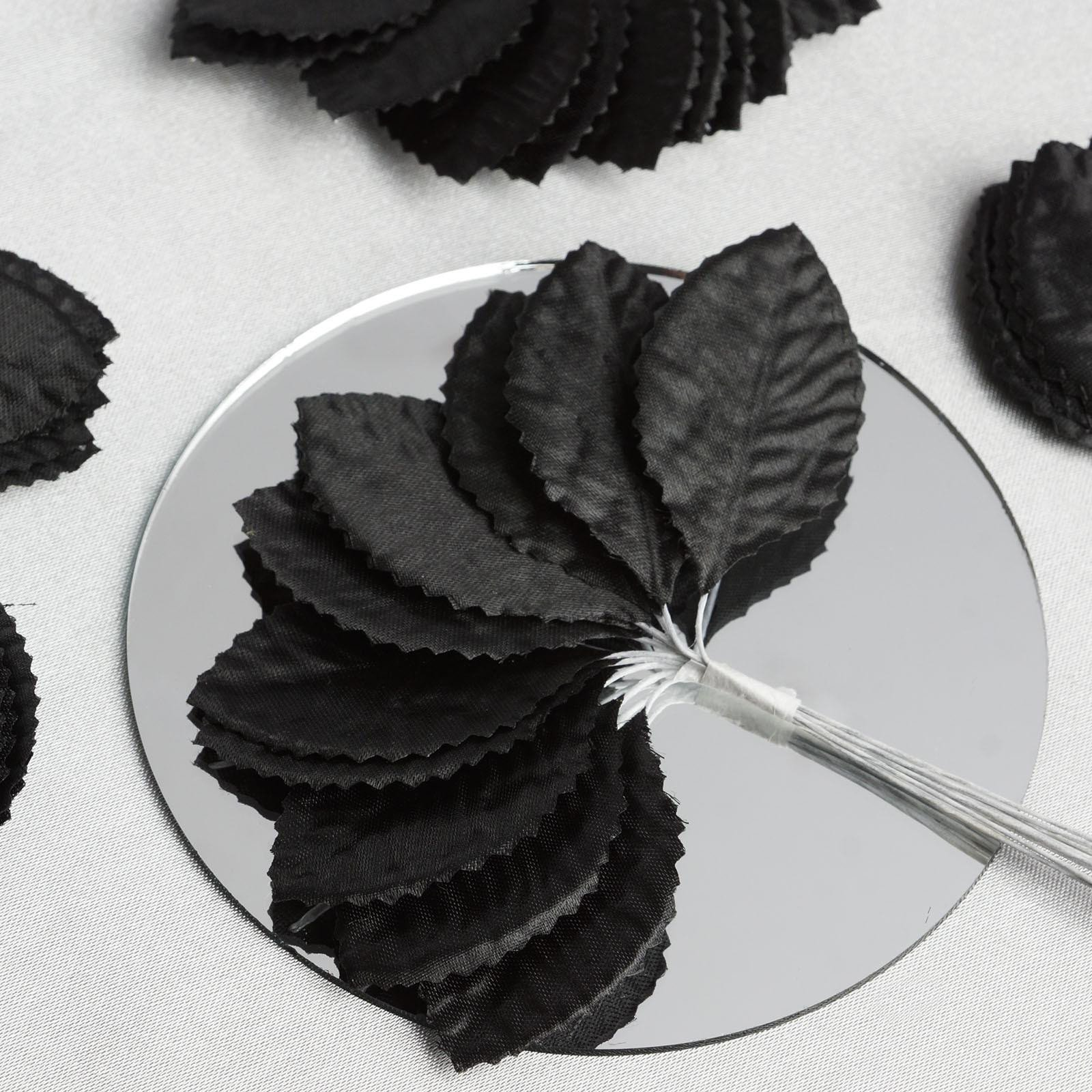BalsaCircle 144 Silk Craft Leaves - Mini Flowers for DIY Wedding Party Favors Decorations Supplies