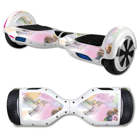 MightySkins Protective Vinyl Skin Decal for Hover Board Self Balancing Scooter mini 2 wheel x1 razor wrap cover sticker Water Color Mocking - Hoverboard Decals