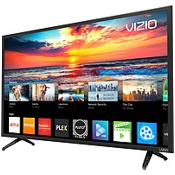 "Refurbished VIZIO D D39F-F0 38.5"" 1080p LED-LCD TV - 16:9 - HDTV - Black - 178 / 178 - 1920 x 1080 - DTS StudioSound - 20 W RMS - Full Array LED Backlight - V6 Processor - Smart TV - 2 x HDMI - USB"