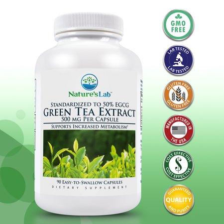 Dark Lab (DrVita Labs Natures Lab Green Tea Extract, 90)