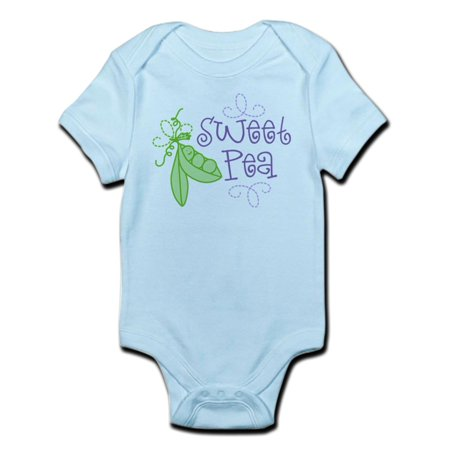 CafePress - Sweet Pea Infant Bodysuit - Baby Light - Sweet Pea Costume Baby