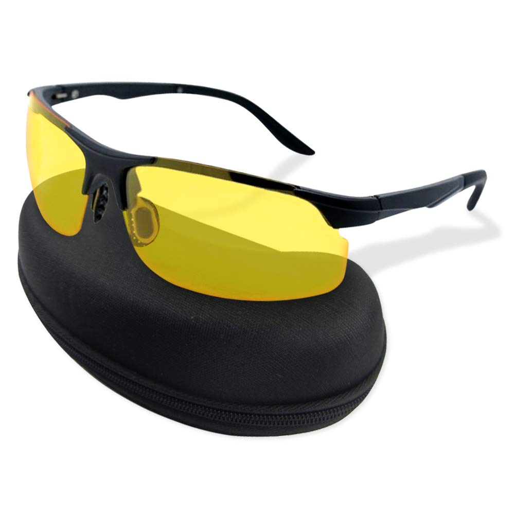 Night Vision Sunglasses Polarized HD Anti Glare Driving Glasses Day Lens UV400