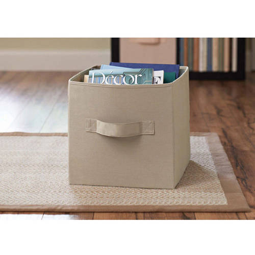 Better Homes and Gardens Collapsible Fabric Storage Cube Set of 2 Multiple Colors  sc 1 st  Walmart & Better Homes and Gardens Collapsible Fabric Storage Cube Set of 2 ...