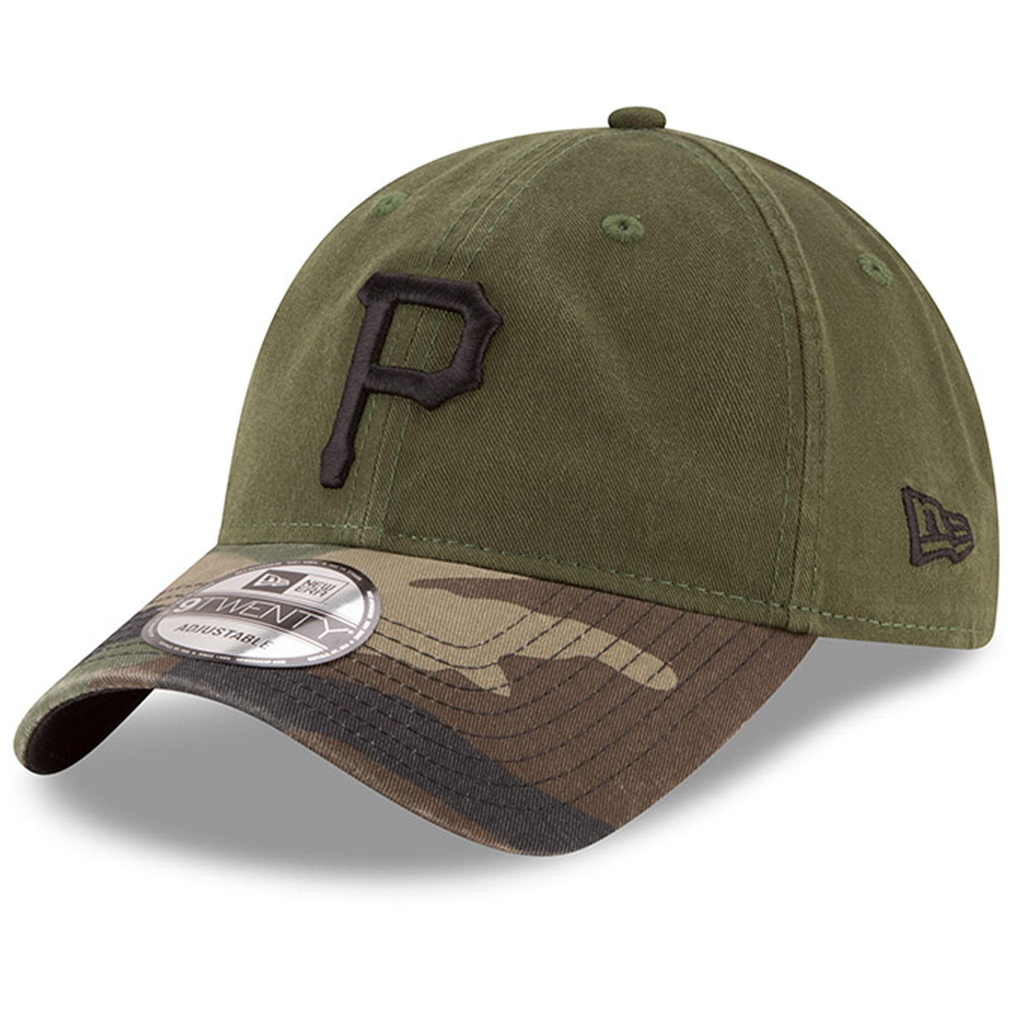 Pittsburgh Pirates New Era Alternate 3 Replica Core Classic 9TWENTY Adjustable Hat - Olive - OSFA