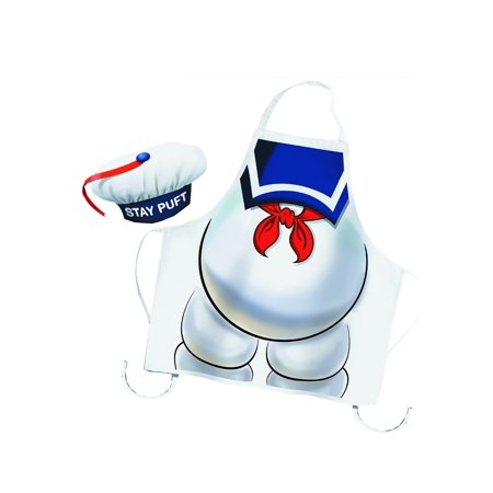 Stay Puft Hat (Ghostbusters Stay Puft Apron and Chef)